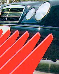 Barrera de pinchos para vehiculos